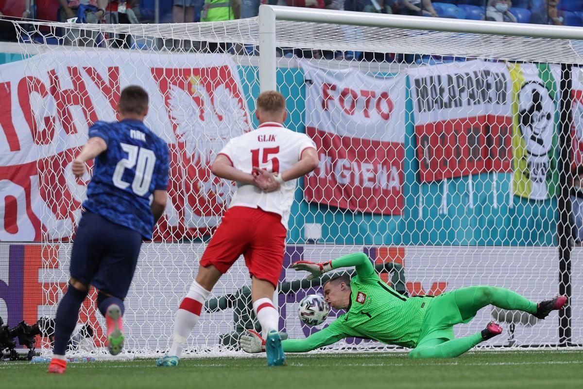 Skriniar-gol, Slovacchia batte Polonia 2-1