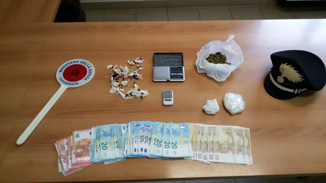 I carabinieri arrestano due giovani di Aprilia per spaccio