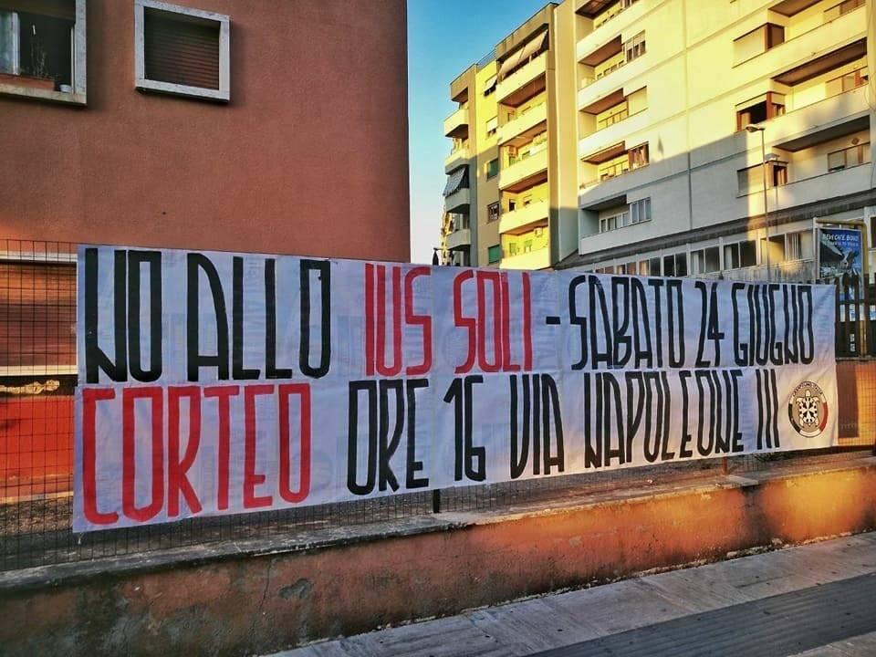 CasaPound Lombardia: serve lavoro, non cittadinanza: no Ius soli