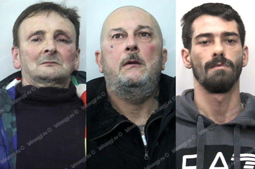 Progettano rapina alla banca ma trovano carabinieri ee polizia di Latina