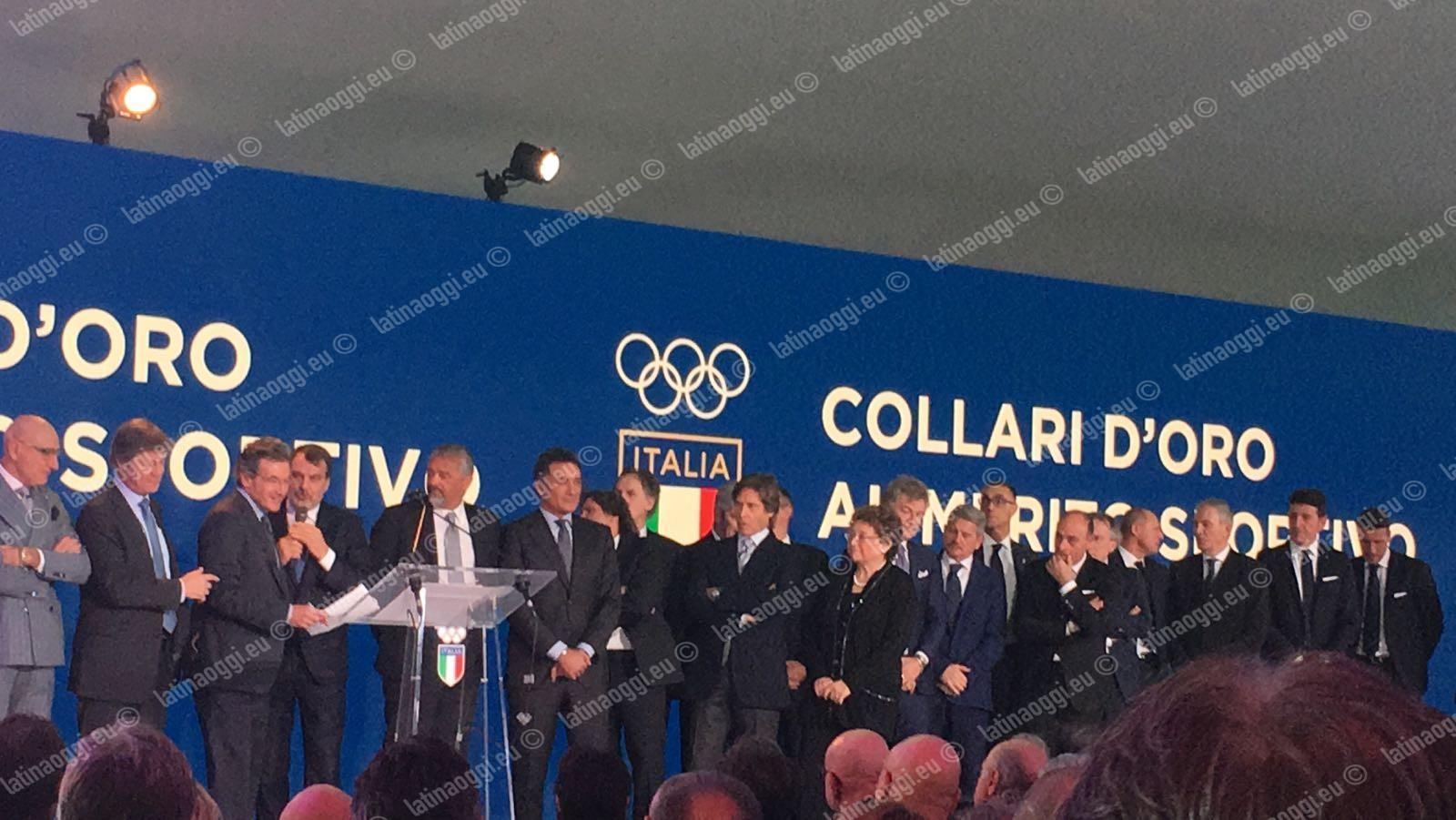 Collare d'Oro al merito sportivo per Emanuele Lambertini