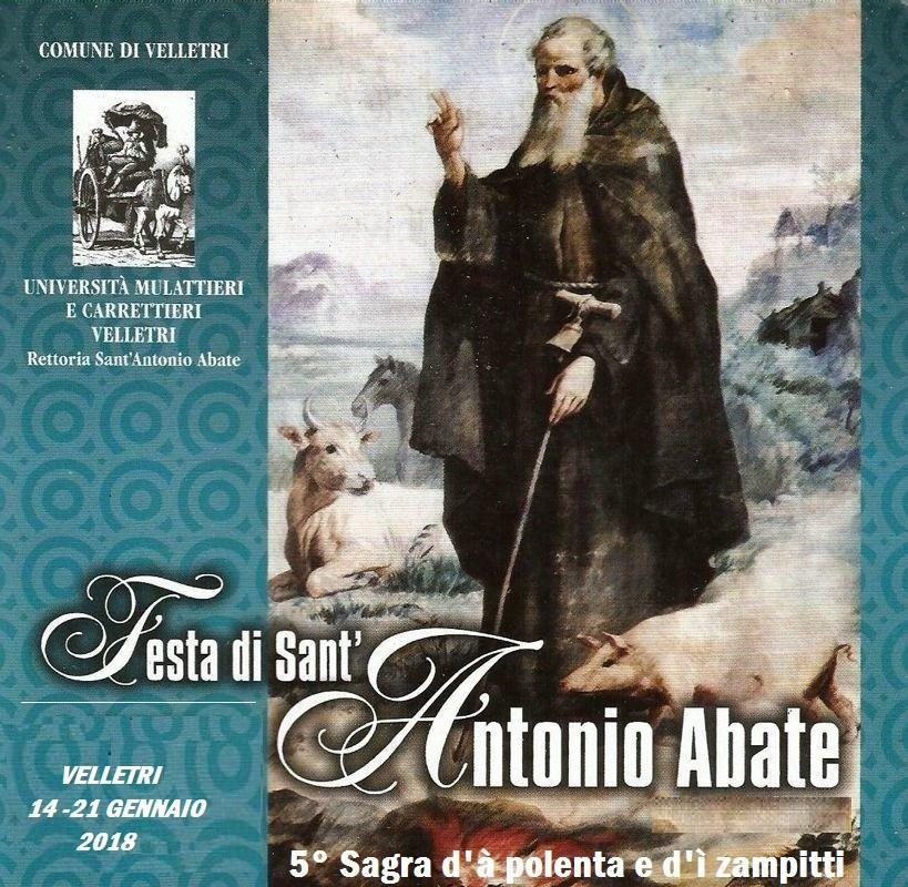 Per Sant'Antonio Abate la benedizione di animali e sementi