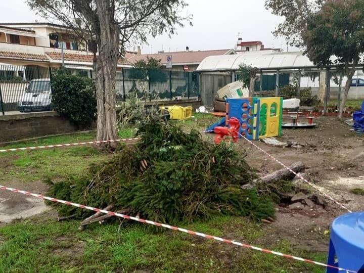 Maltempo a Pomezia, resteranno chiusi solo tre plessi. Continua la conta dei danni - latinaoggi.eu