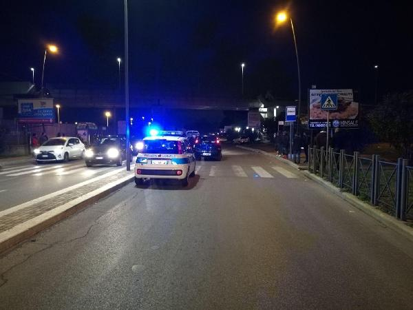 I rilievi successivi all'incidente, ad Anzio