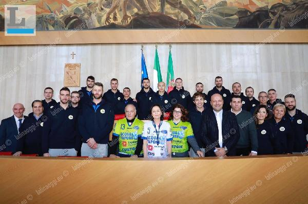 La Top Volley Latina in visita dal Prefetto Maria Rosa Trio
