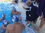 Un time out della Latina Pallanuoto