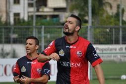 Meloni, doppietta per il Fondi e 101 gol in carriera in Serie D