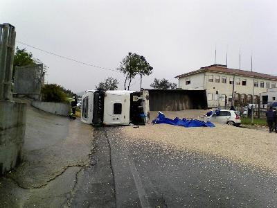 L'incidente in via dei Cinque Archi, a Velletri